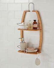 Bath Shower Caddy umbra bamboo bath shower caddies/organizers for sale | ebay
