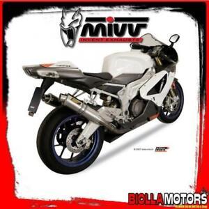 A.004.L6S KIT EXHAUST MIVV APRILIA RSV 1000 2004-2008 1000CC GP TITANIUM/INOX ST
