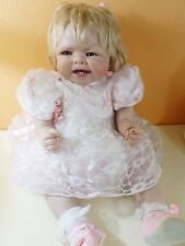 BAMBOLA VINTAGE REBORN BONNIE CHYLE DOLL REALISTIC VINILE COMPLETA UNICA