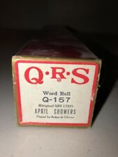 QRS Player Piano Word Roll Q-157 April Showers Arden & Ohman