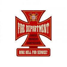 Fire Department Metal Sign Man Cave Garage Shop Club Unique Wall Decor ic002