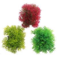Aquariumpflanzen Künstliche Aquarium Pflanzen Kunstpflanze Terrarium Gras Z8E9
