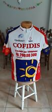 NEUF MAILLOT CYCLISME CYCLISTE COFIDIS Taille 6 CYCLING JERSEY 2004
