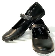 Umi School Shoes Girl Lana Black Mary Jane Ballet Flat   7 7.5 24 Strap Uniform
