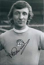 Mike SUMMERBEE SIGNED COA Autograph 12x8 Photo AFTAL Man City Preston England