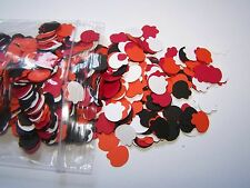 Elmo party birthday confetti .5 inch red orange white black Sesame Street child