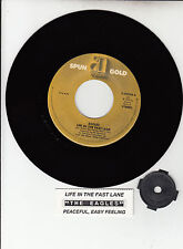 """EAGLES Life In The Fast Lane Peaceful Easy Feeling 7"""" 45 record NEW + juke strip"""