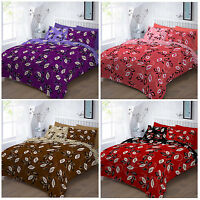 Luxury Grace Leaf Duvet Cover Set Bedding Set Quilt Cover with Pillowcases