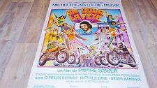 UN JOUR LA FETE ! michel fugain le big bazar  affiche cinema musique 1974 moto