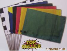 """Racing Flag Set (7 Flags) Youth - 12"""" x 18"""" with Carry Bag"""
