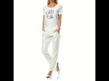 Pantalon chino blanc KARL LAGERFELD neuf (fr40)pantalon femme