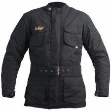 Mens RST 1877 Classic TT Wax 3/4 II Motorcycle Jacket Black 50 Chest BNWT