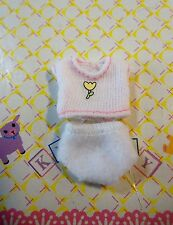 Kelly Krissy Newborn Small Doll Baby Clothes *Krissy's White Top & White Panty*