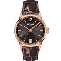 TISSOT Swiss Automatic Rose-Gold Tone Women's Watch T099.207.36.447.00 - New!