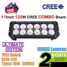 11inch 120W CREE LED Light Bar High Output Ultimate Edition Double Row COMBO