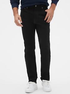 Gap Men's Athletic Taper Jeans with GapFlex in True Black Size 30x30 NWT