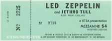 1 Led Zeppelin Vintage Unused Full Concert Ticket 1969 San Antonio Tx Laminated