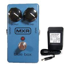 MXR M-103 Blue Box Octave Fuzz w/ 9v power supply