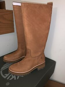NIB Timberland Women's Courmayeur Valley Tall Boot Mid Brown TB0A2998140 - sz 6