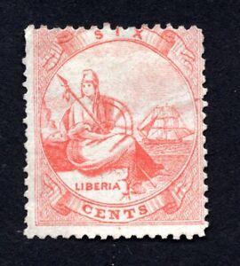 Liberia 1864 stamp Mi#4 MNG CV=85€ lot 2