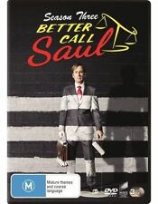 Better Call Saul : Season 3 (DVD, 2017, 3-Disc Set)