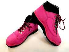 new TIMBERLAND kids girls boots shoes leather pink 6X MSRP $165