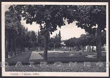 FIRENZE SCARPERIA E SAN PIERO 02 GIARDINI PUBBLICI Cartolina viaggiata 1935