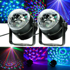 2Pcs Mini Projector Stage Light R&G Party Laser Lighting Show DJ Disco KTV Led