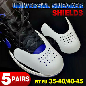 5 Pairs!! Shoe Anti Crease Protector Force Fields Sneaker Guard Decreaser Shield