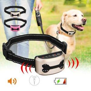 Collar Anti Ladridos Para perros RECARGABLE Con Vibracion, Sonido o Choque, New