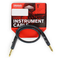D'Addario/Planet Waves Custom Series 1 ft. Patch Cable Right Angle