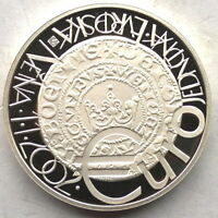 Czech 2002 Euro Currency System 200 Korun Silver Coin,Proof