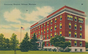 DEACONESS HOSPITAL, BILLINGS, MONTANA. MT.