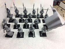 Warhammer Citadel plastic Freeguild Empire Spearmen x17