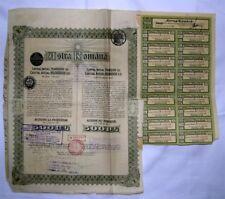tittre au porteur de Roumanie  ( 280 )