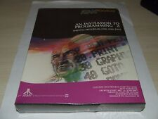 AN INVITATION TO PROGRAMMING 2 for ATARI 400/800 COMPUTER V.RARE SEALED new