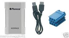 Interfaccia audio iPOD-iPHONE-USB-SD-MP3 CD Changer Connection Citroen 06> Peu