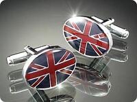 CUFFLINKS British Flag