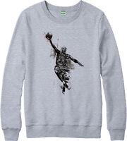 Michael Jordan Jumper, Basketball Jordan Logo Spoof Adult & Kids Jumper Top