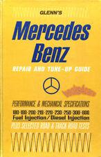 MERCEDES SHOP SERVICE REPAIR MANUAL GUIDE BOOK GLENN HAYNES CHILTON WORKSHOP