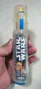 Vintage 1977 Star Wars Light Saber Electric Toothbrush Working No Brush