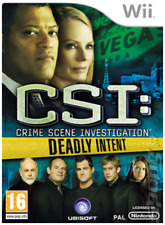 Wii & Wii U - CSI: Crime Scene Investigation: Deadly Intent **New & Sealed**