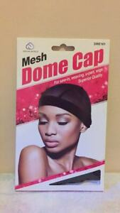Dream Mesh Dome Cap Black # DRE161  2 Packs