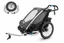 Thule Chariot Sport 1 Black Edition Einsitzer Kinderanhänger 2020   10201011