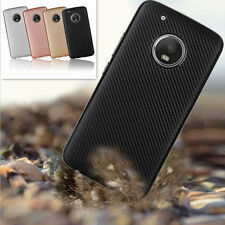 Shockproof Ultra-thin Carbon Fiber Soft Case Cover For Motorala Moto G4 G5/6 G5s