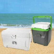 Igloo 54 Quart Marine Ultra Cool Box Ice Chest + Igloo 18 Quart Cooler 51 & 12 L