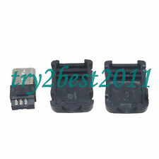 5 sets USB Male plug Connector Micro 5pin with Cover