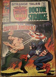 Strange Tales #159  Captain America/1st Contessa Falcon And Winter Soldier...