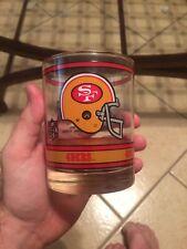 Rare San Francisco 49ers Helmet Cocktail Glass(es) Jan 22,1989 Super Bowl Xxiii