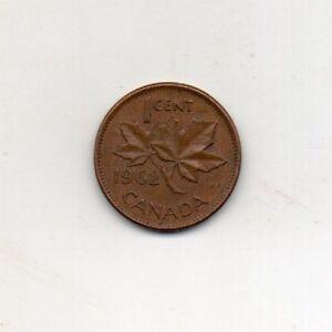 CANADA 1 Cent 1962